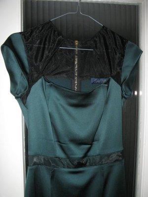 Neues wunderschönes elastisches Luxussatinkleid von Safiyaa,D32