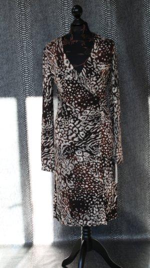 neues wunderschönes Wickelkleid im animalprint