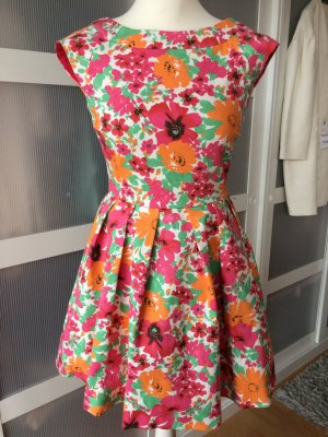 Neues Zara Blumenkleid M 36/38 Blogger Blumen