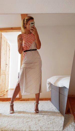 NEUES Zara Kleid mit Streifen Print Trend Blogger Musthave