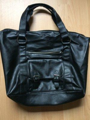 Neuw. große Handtasche Bag schwarz
