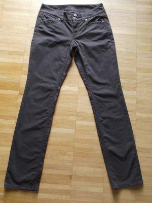 NEUw. Hose von ESPRIT Gr. 34/Reg. Braun schöne Nieten und Details