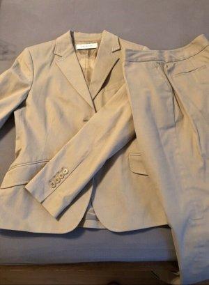 Zara Traje de pantalón beige