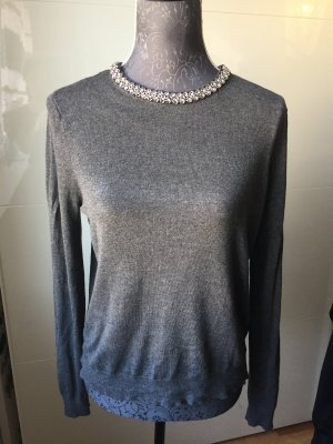 NEUw Schicker Pullover grau