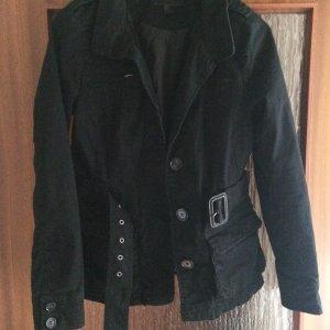 Neuw. Stoff Jeans Jacke Gr. 38
