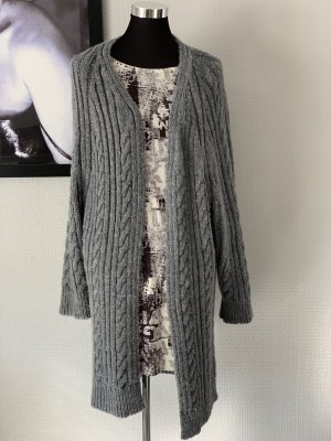 Knitted Coat grey
