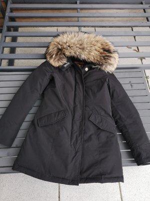 Woolrich Manteau d'hiver noir tissu mixte