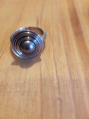 ***Neuware: Edelstahl Silber Ring Gr. 58