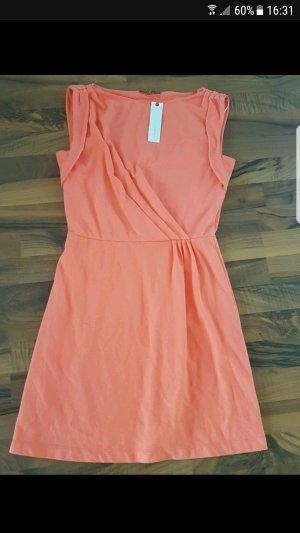 Neuware Esprit Kleid im Orange in gr S
