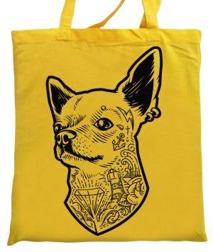 Canvas Bag yellow cotton