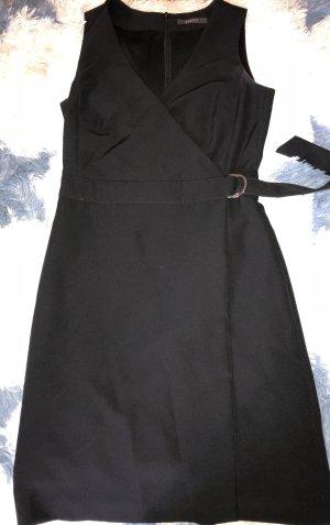 Esprit Vestido con capucha negro Poliéster