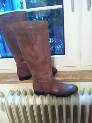 Riding Boots camel leather