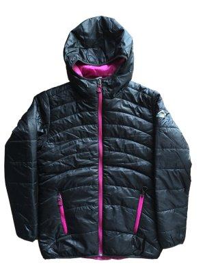 neuwertig 32 152 12 Jahre MC KINLEY Winterjacke Jacke Anorak Steppjacke schwarz pink