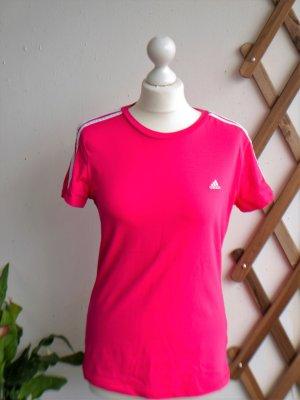 *Neuwertig* Adidas: Sporttop / Fitnesstop kräftiges pink (M/38-40)