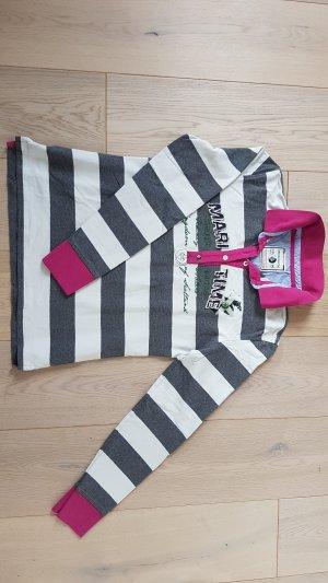 Arqueonautas Sweatshirt violet-blanc cassé coton
