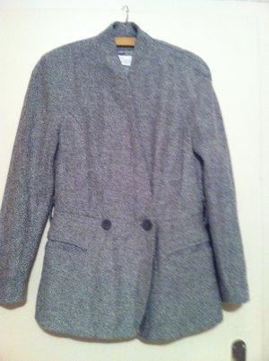 CM by Papst Wool Blazer white-black wool