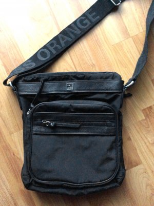 neuwertig BOSS ORANGE Tasche Messenger shoulder bag Schultertasche schwarz
