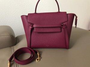 Neuwertig! Céline Belt bag micro in der Farbe Plum Beerenton