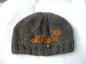 *Neuwertig* Chillouts: Mütze braun-orange (ca.54cm)