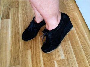 Clarks Wedge Booties black