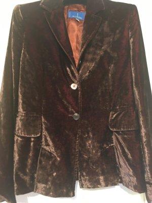 Blonde No. 8 Blazer stile Boyfriend marrone-rosso mora Viscosa