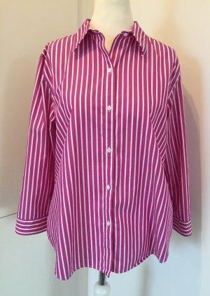 Lauren by Ralph Lauren Shirt Blouse violet-white cotton