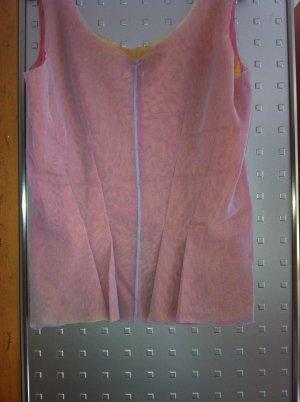 Neuwertig! Interessante Bluse/Shirt aus 3 Schichten Tüllstoff