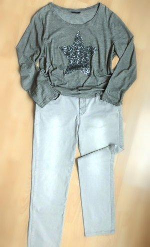 Orsay Pantalone cinque tasche beige chiaro Cotone