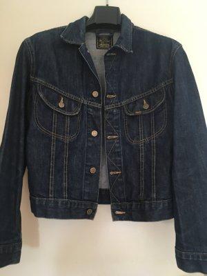 Lee Denim Jacket dark blue cotton