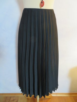 Luisa Cerano Jupe plissée noir