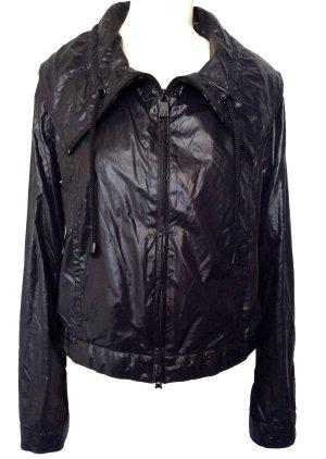 neuwertig M 40 42 (IT46) ARMANI JEANS Designer Original super leichte Jacke schwarz