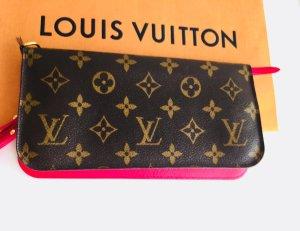 Neuwertig: Original Louis Vuitton Geldbörse mit dem Pink Plus