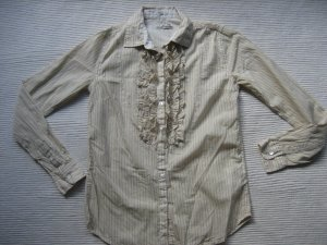 Neuwertig Replay leichte Bluse Gr 36 s beige dandys krause