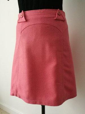 H&M Gonna di lana rosa-rosa