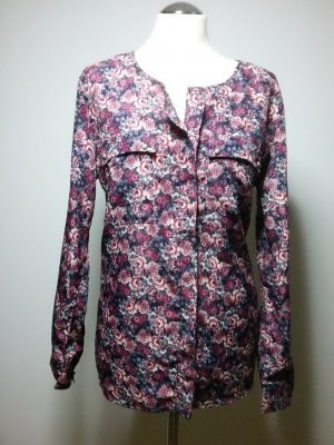 Neuwertig schöne Bluse Sommer Blumen Gr M