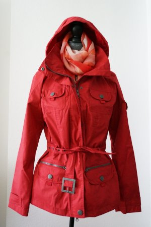 Cecil Outdoor Jacket brick red polyester