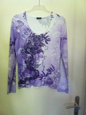 Gerry Weber Crewneck Sweater purple-lilac viscose
