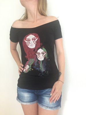 NEUwertig +++ Top Tshirt MANGO + only edc replay CarmenShirt rückenfrei