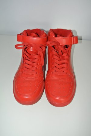 Neuwertig - Turnschuhe Sneaker rot Zalando -