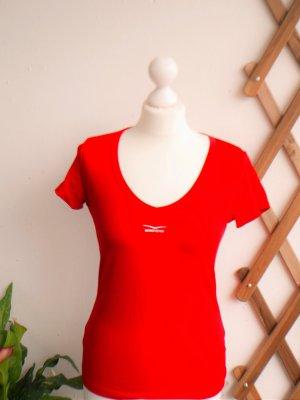 *Neuwertig* Venice Beach: Sportshirt / Fitnessshirt, ampelrot (38-40)