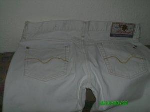 Neuwertig! Weiße REPLAY Jeans, GR=28, NP=159€