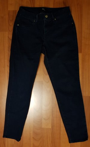 neuwertige 7/8 jeans denim gr.40 high waist