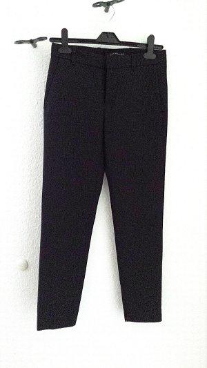 Neuwertige 7/8 - Stoffhose von Zara in schwarz, Gr. XS