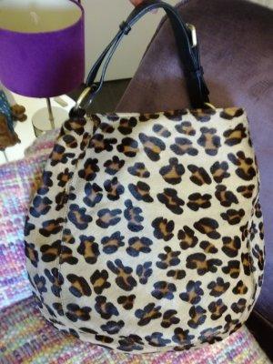 Neuwertige Abro Handtasche im Leoprint