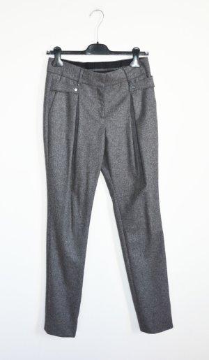 Belstaff Woolen Trousers grey wool
