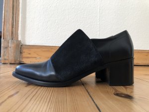 STRENESSE Neuwertige, besondere Leder-Boots mit Felleinsatz (Neupreis 449,-)