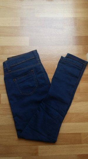 neuwertige blaue Jeans/ultra soft, super skinny/ Gr. 36