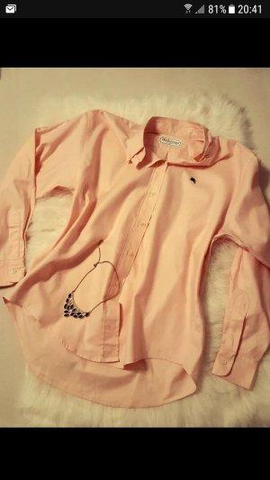 Neuwertige Bluse von Burberry in Rosa , Gr 40