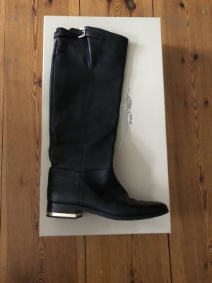 Burberry Riding Boots black-gold-colored