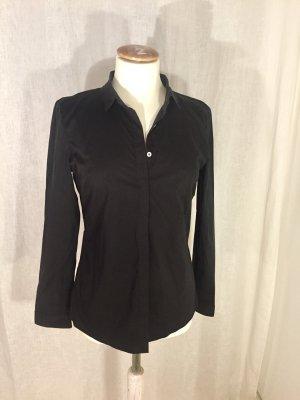Neuwertige Calvin Klein Bluse - Anzugsbluse in schwarz. Boyfriend Style